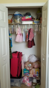DIY closet, closet organizing, messy closet, spring cleaning, small closet, apartment closet, small apartment