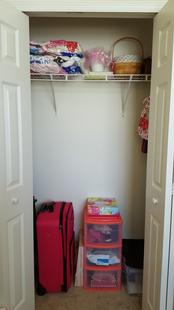 organized closet, nursery, storage solutions, OCD, DIY, organization, closet, storage